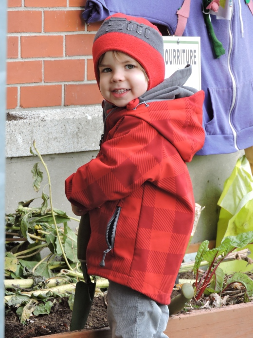 Petit jardinier deviendra grand!