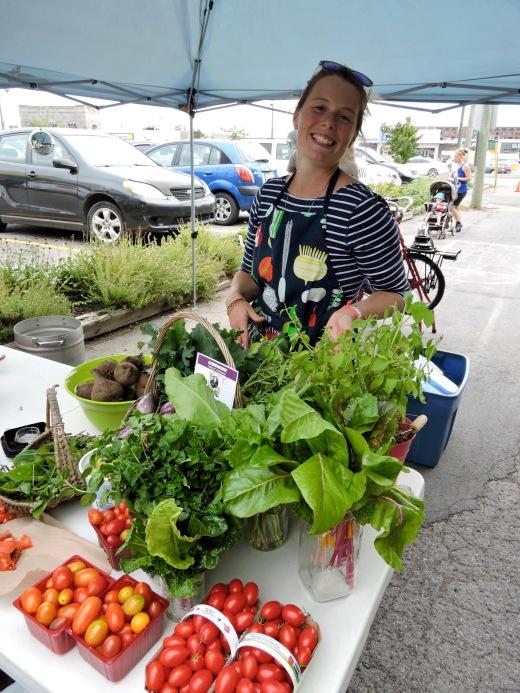 Martine  présentoir légumes